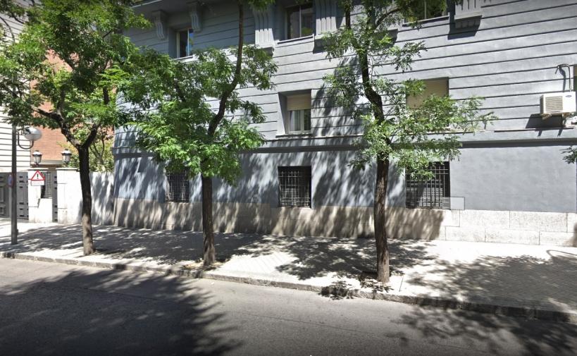 Edificio de la Dirección General de la Guardia Civil, en la madrileña calle de Guzmán el Bueno.