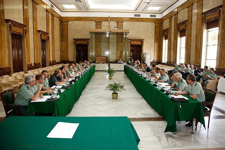 Foto de archivo de un pleno del Consejo de la Guardia Civil.