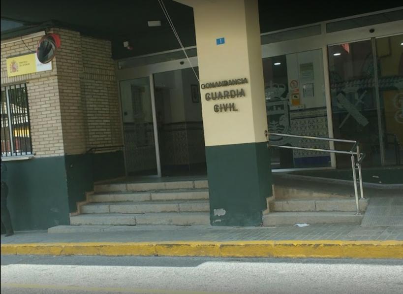 Comandancia de Huelva, en cuyo salón de actos tendrá lugar la asamblea de AUGC.