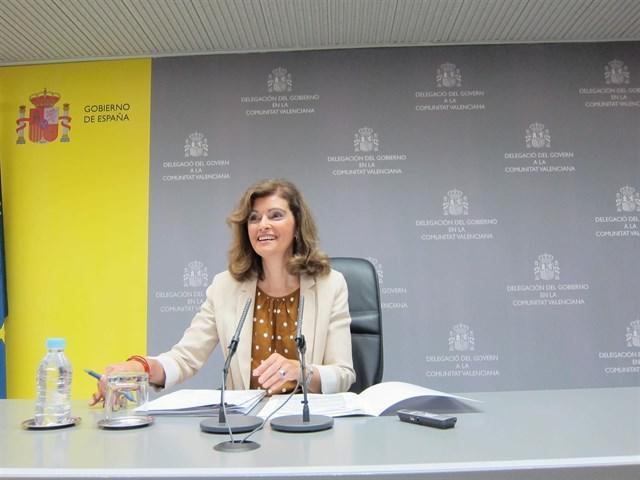 La Secretaria de Estado de Seguridad, Ana María Botella.