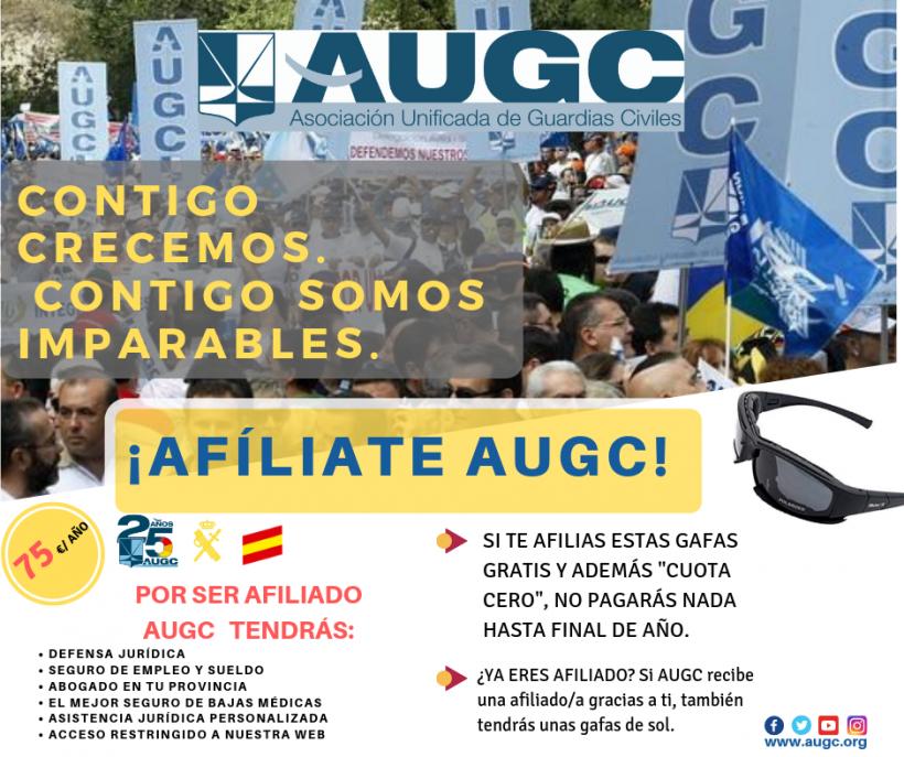 Cartel de la campaña de afiliación.