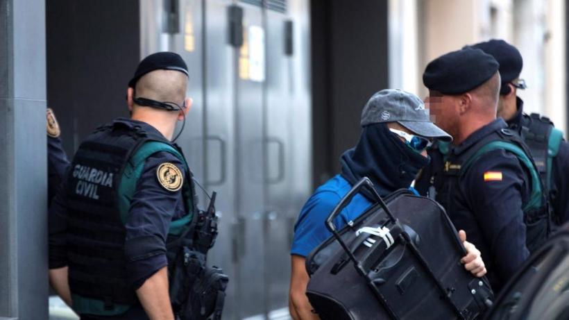 Imagen de la detención de los miembros de los CDR.