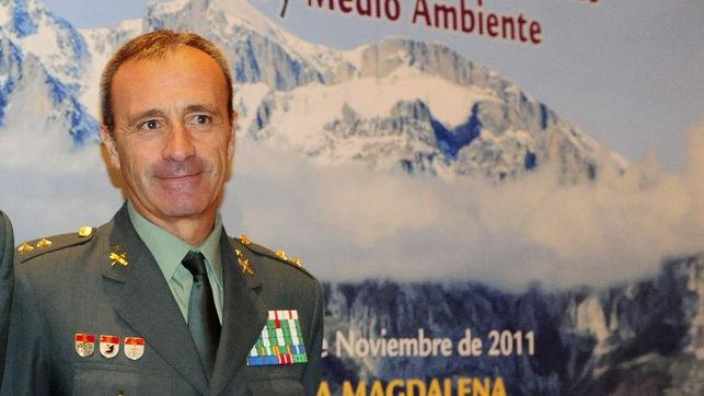 Imagen de archivo del coronel Francisco García Santaella.
