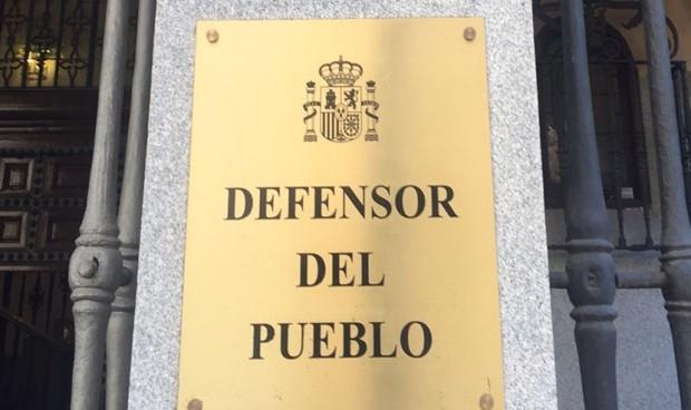 Detalle de la sede del Defensor del Pueblo.