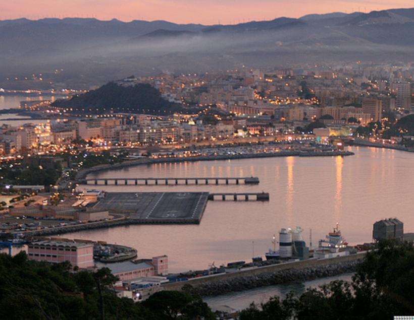 Vista panorámica de la ciudad de Ceuta.