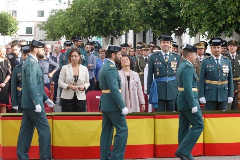 Celebración de la Patrona en la Comandancia de Córdoba