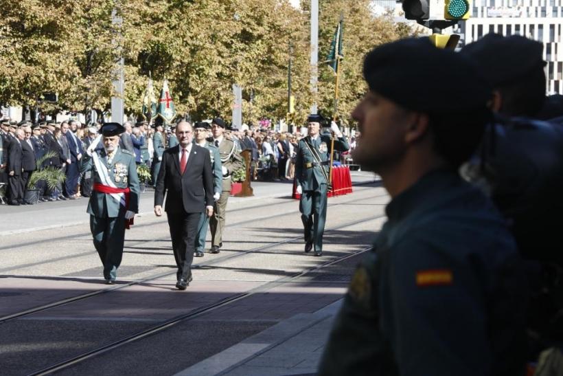 Desfiles militares realizados con horas detraídas del servicio que ha de prestar la Guardia Civil.