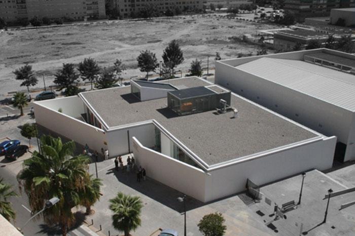 Biblioteca Benicalap-Carmelina Sánchez Cutillas, en cuyo salón de actos tendrá lugar la asamblea de AUGC Valencia.