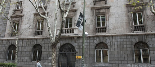 Sede en Madrid del Tribunal Militar Central.