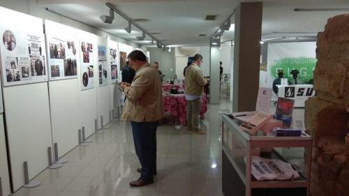 Una imagen de la exposición de AUGC en Mérida.