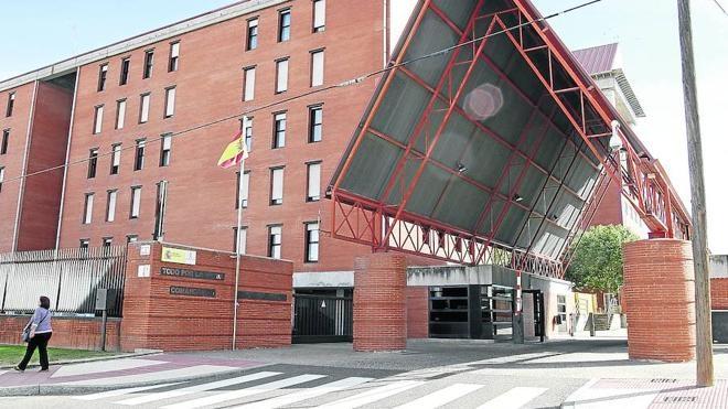 Comandancia de la Guardia Civil de Salamanca.