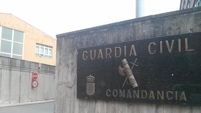 Comandancia de la Guardia Civil en A Coruña.