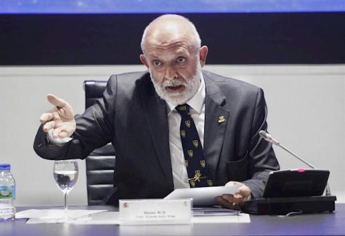 El director general de la Guardia Civil, Félix Azón.