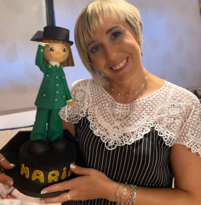 María Contreras, guardia civil y autora de la obra 'Yo no seré la próxima: Mi ángel de la guardia viste uniforme'.