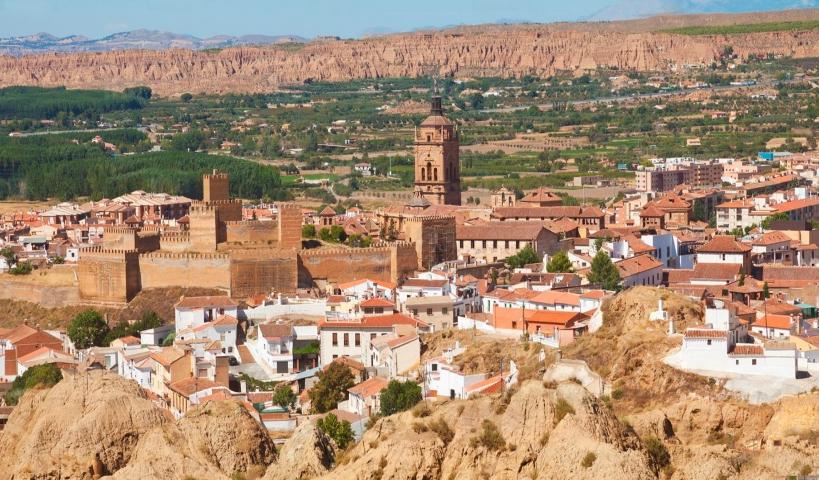 Vista panorámica de la ciudad de Guadix (Granada), en cuyo puesto se encuentra destinado el que fuera representante de AUGC en esta provincia.