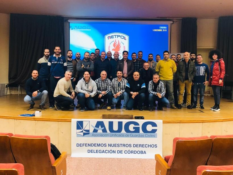 Asistentes al curso organizado por AUGC en Córdoba