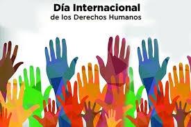 Cartel del Día Internacional de los Derechos Humanos.