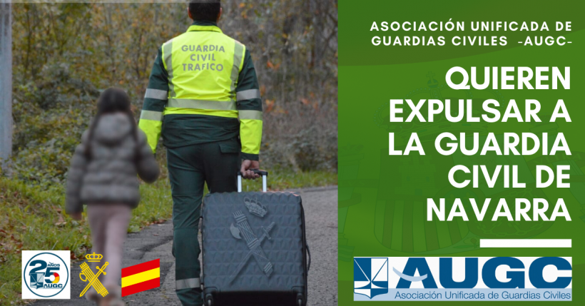 No estamos dispuestos a este atropello en las competencias de la Guardia Civil.