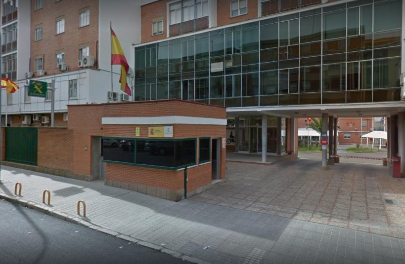 Comandancia de Zamora, en cuyo salón de actos tendrá lugar la Asamblea de AUGC.
