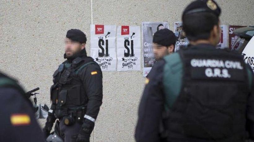 Agentes del GRS en Cataluña.