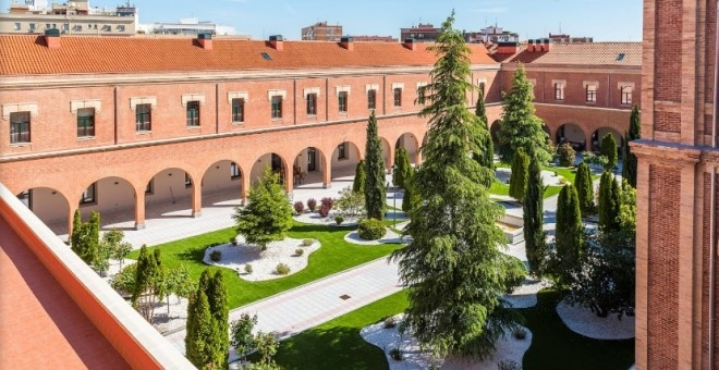 Residencia Colegio Infanta María Teresa, donde tendrá lugar la Asamblea de AUGC Madrid.