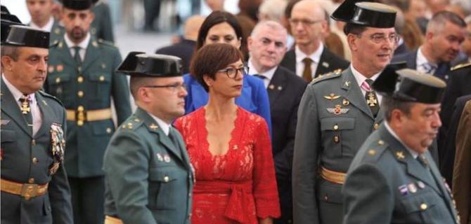 María Gámez, sustituye al cesado Félix Azón, dando pie a nueva etapa en la Dirección General de la Guardia Civil.