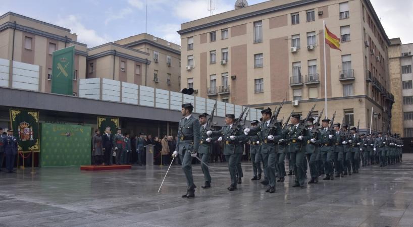 Acto de la toma de posesión de su cargo de María Gámez el pasado martes en la Dirección General de la Guardia Civil.