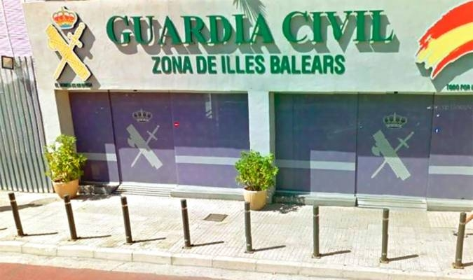 Comandancia de la Guardia Civil en las Islas Baleares.