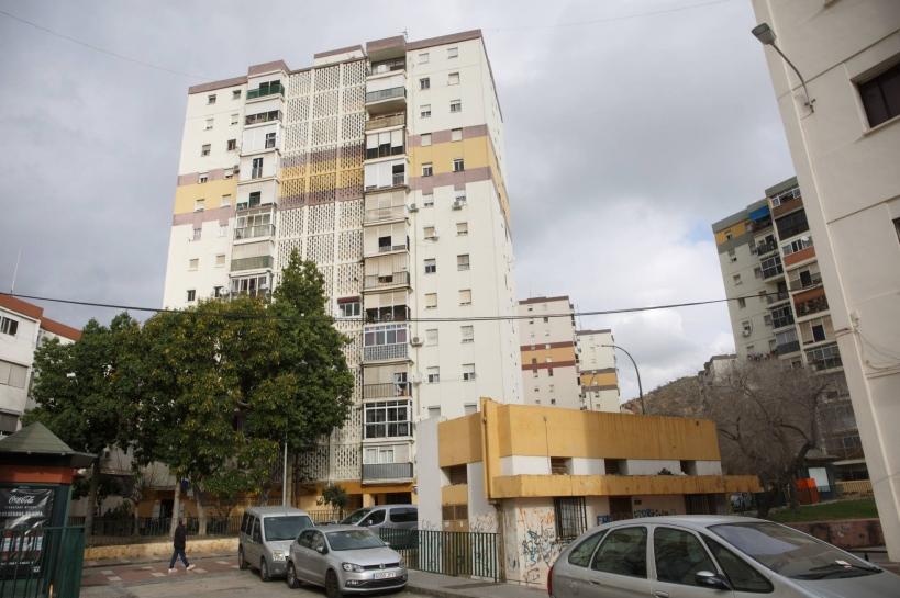 Bloque en el que estaba el fallecido en el tiroteo. Foto: El País / Daniel García-Santos