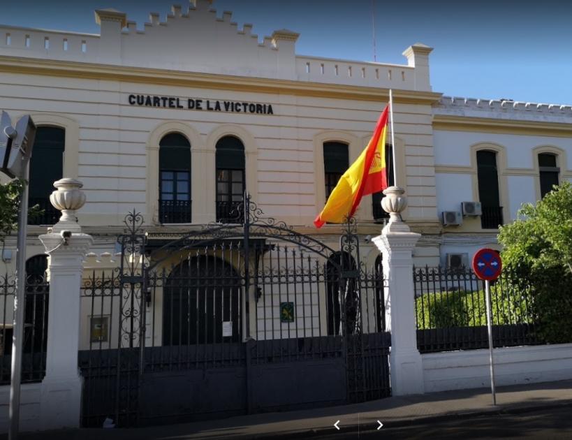 Comandancia de la Guardia Civil de Córdoba, en cuyo salón de actos tendrá lugar la asamblea de AUGC.