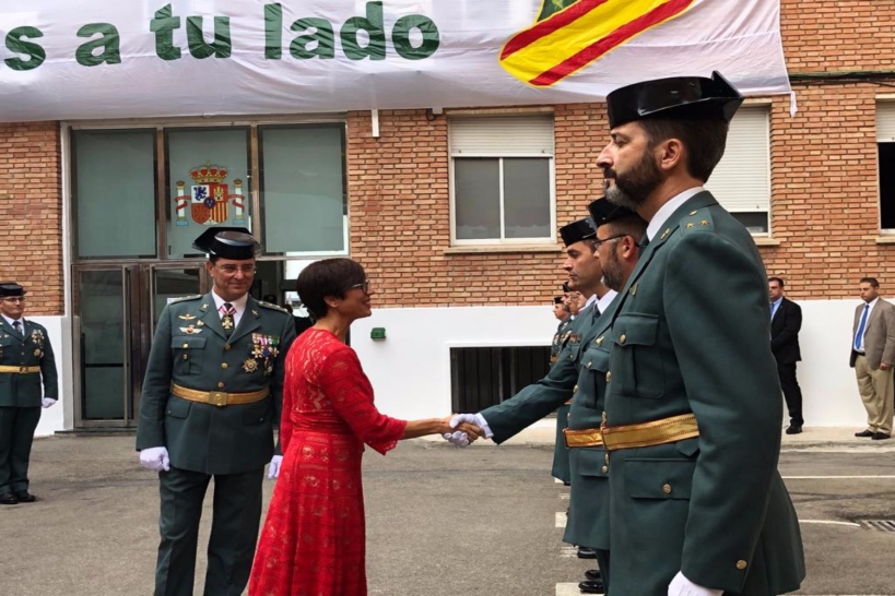 La directora general de la Guardia Civil, María Gámez.