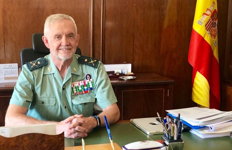 El General Manuel Llamas. Foto: Hispacolex.